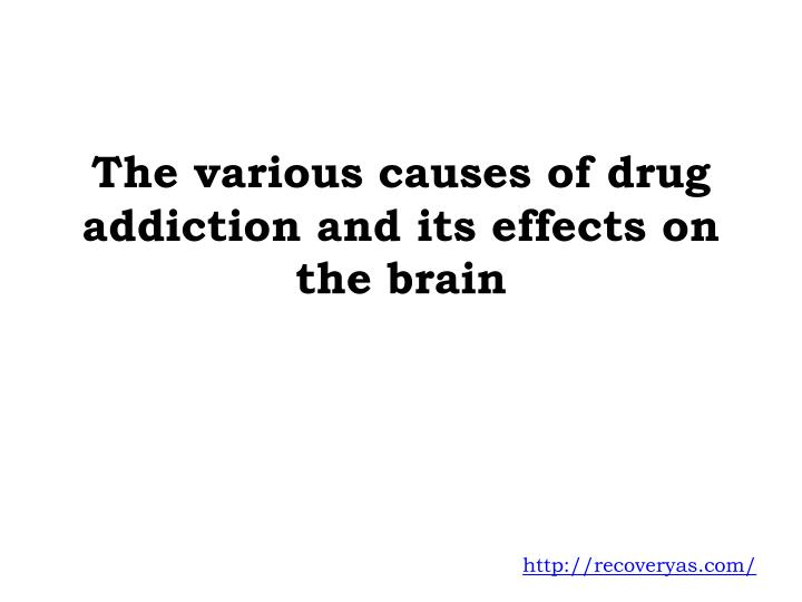cause and effect essay about drug addiction The causes of teen pregnancy, violence, and drug abuse the headlines proclaimed the controversial news: race, poverty, and single-parents were not the irrevocable harbingers of drug abuse, teen pregnancy, and violence.