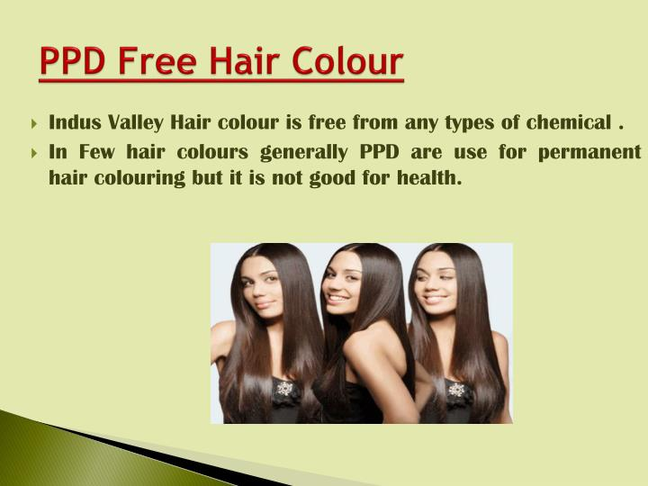 PPD Free Hair Colour