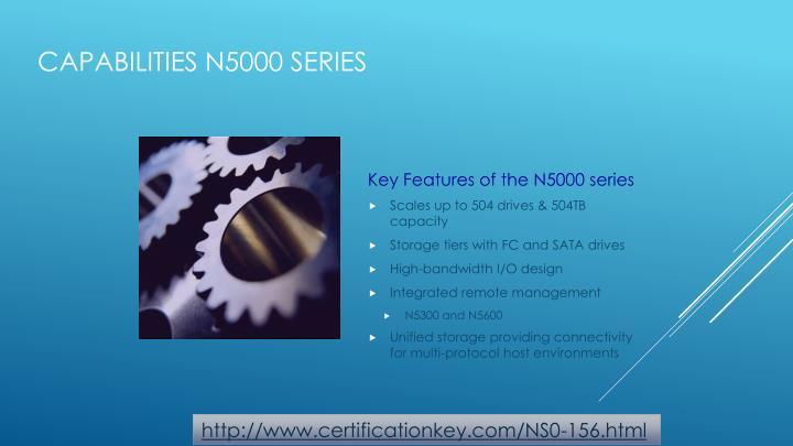 Capabilities N5000 series