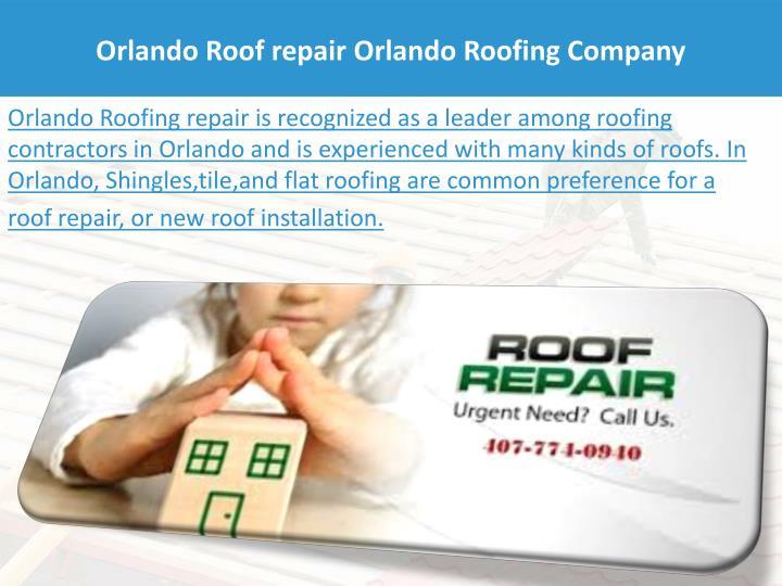 Orlando Roof repair Orlando Roofing Company
