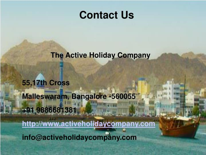 The Active Holiday Company