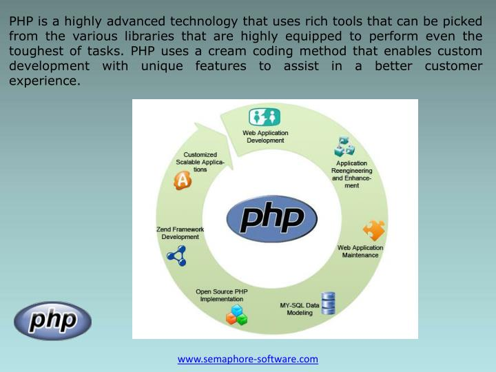 PHP is a highly advanced technology that uses rich tools that can be picked from the various librari...
