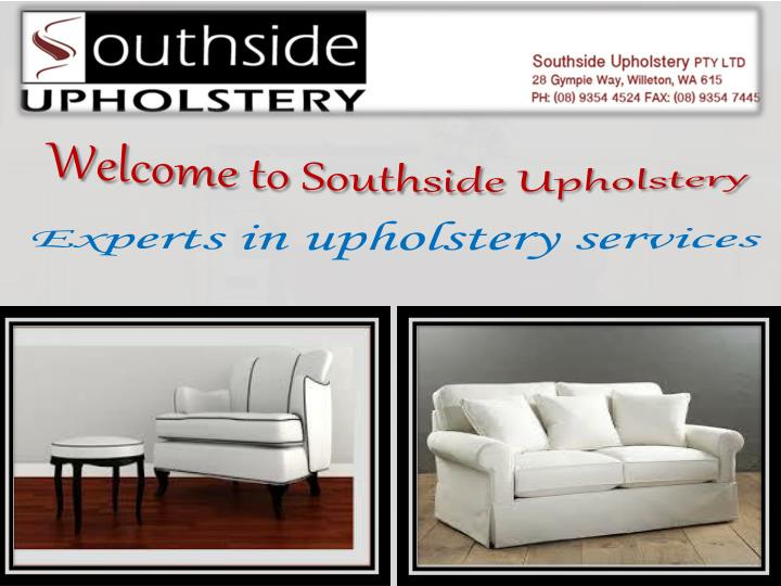 Welcome to Southside Upholstery