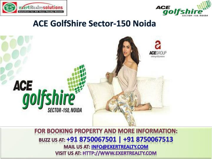 Ace golfshire sector 150 noida1