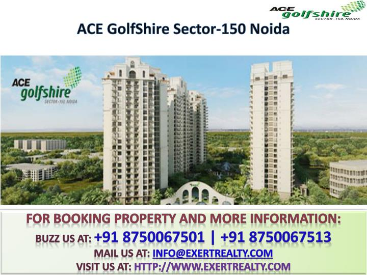 Ace golfshire sector 150 noida2