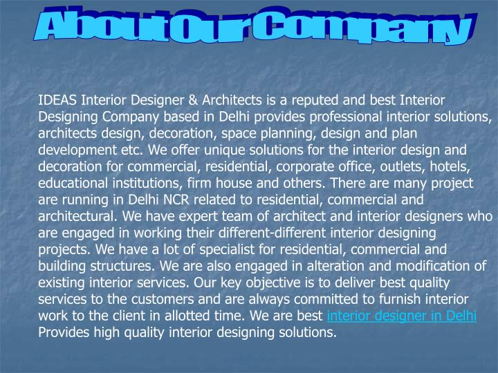 About Our Company