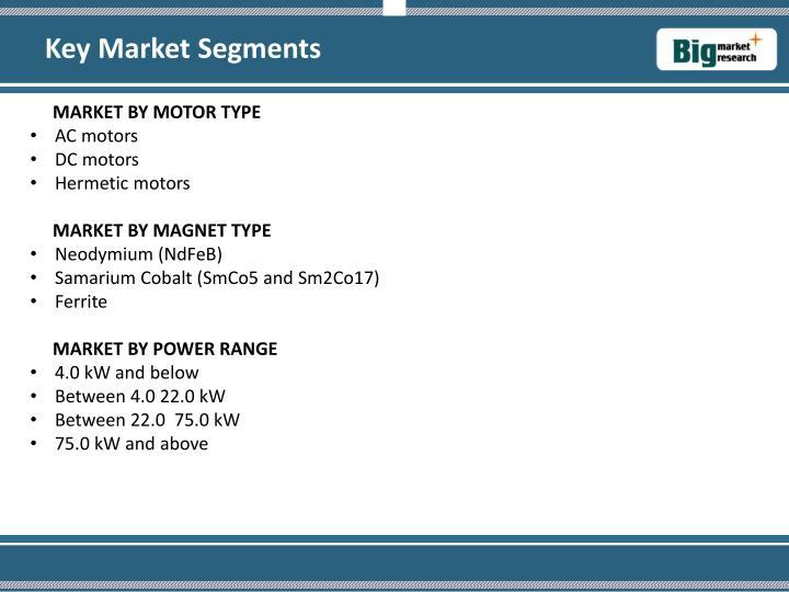 Key Market Segments