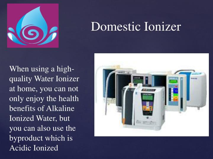 Domestic Ionizer