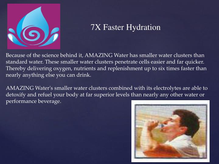7X Faster Hydration