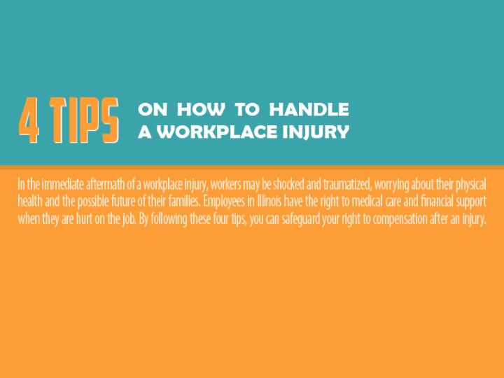 4 tips on how to handle a workplace injury