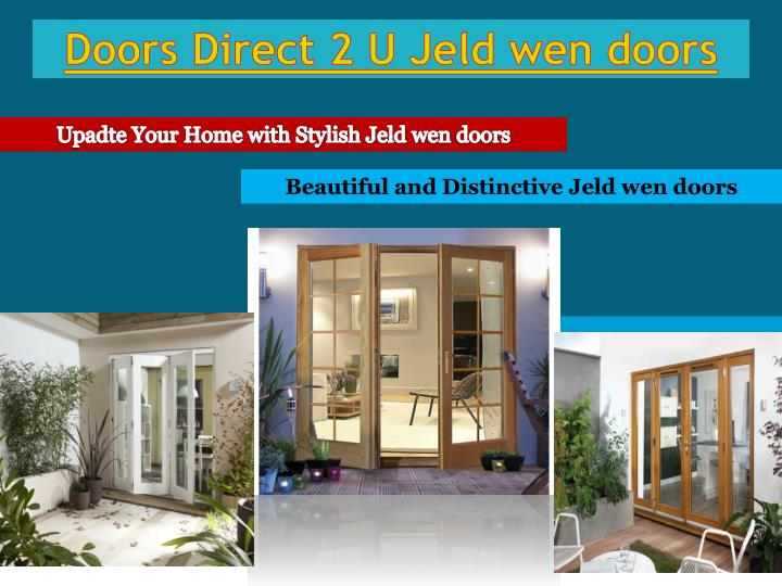 Doors direct 2 u jeld wen doors