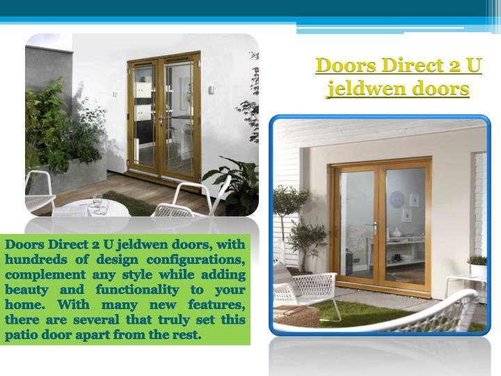 Doors Direct 2 U jeldwen doors