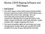 review 2 dvd ripping software and dvd ripper4
