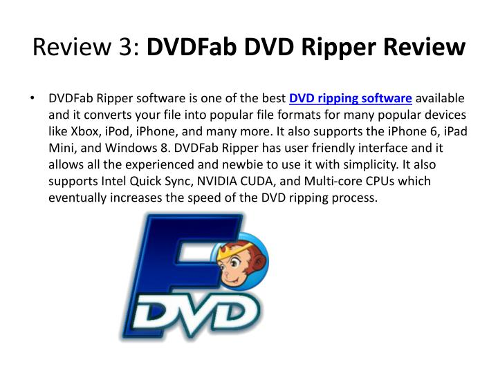 Review 3: