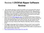 review 4 dvdfab ripper software review1