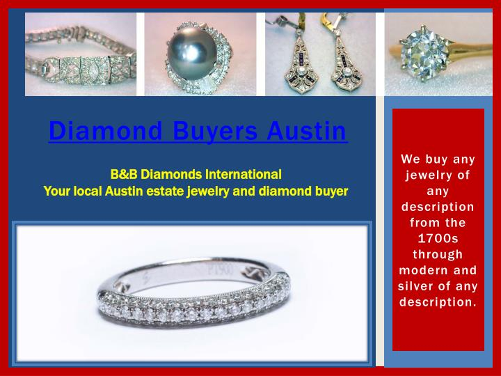 Diamond buyers austin