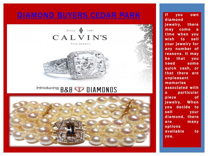 Diamond Buyers Cedar Park