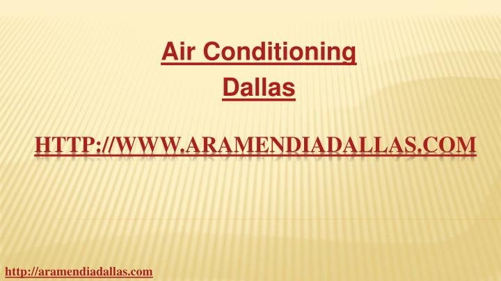 Air conditioning dallas