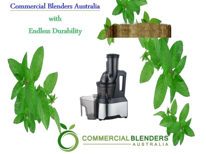 Commercial Blenders Australia