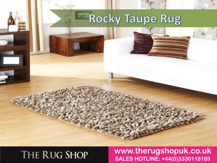 Rocky Taupe Rug