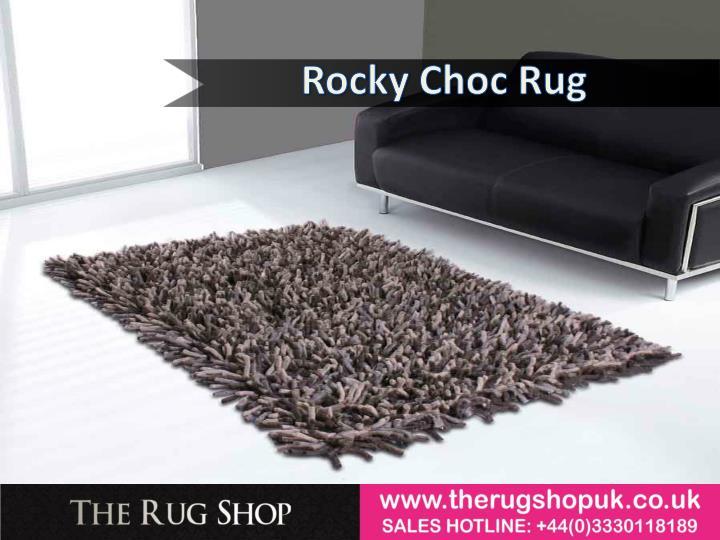 Rocky Choc Rug