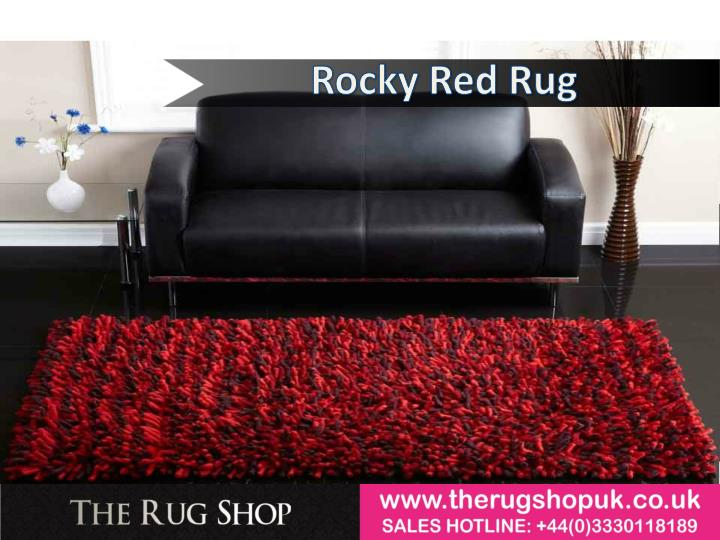 Rocky Red Rug