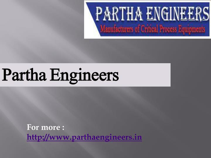 Partha Engineers