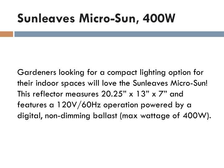 Sunleaves