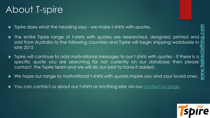 About T-spire