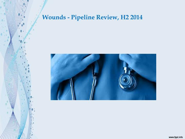 Wounds pipeline review h2 20141