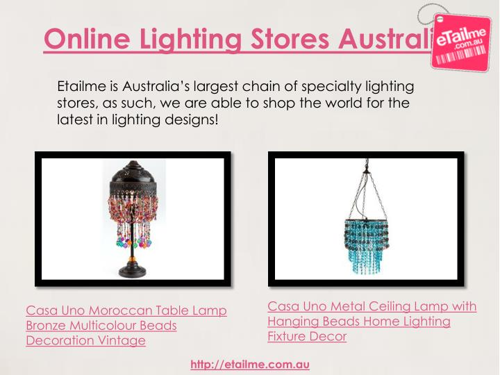 Online Lighting Stores Australia