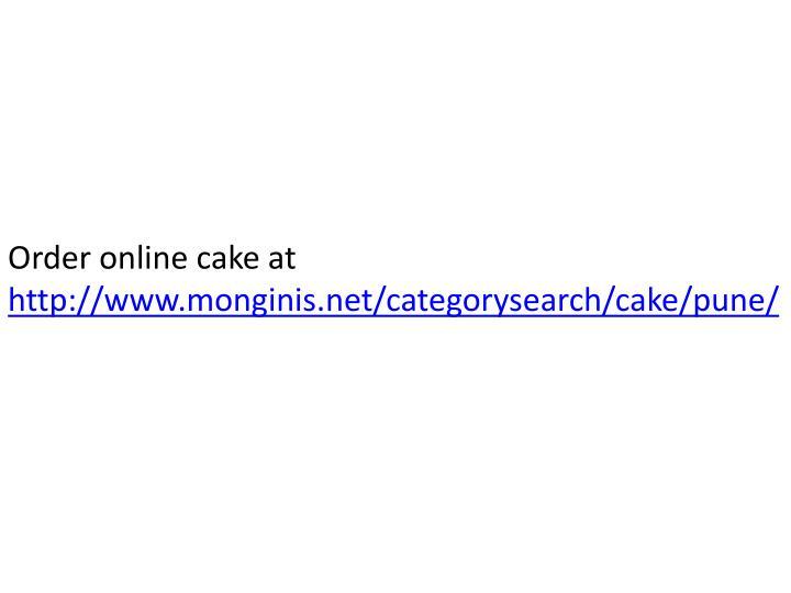 Happy Feet Cake Monginis