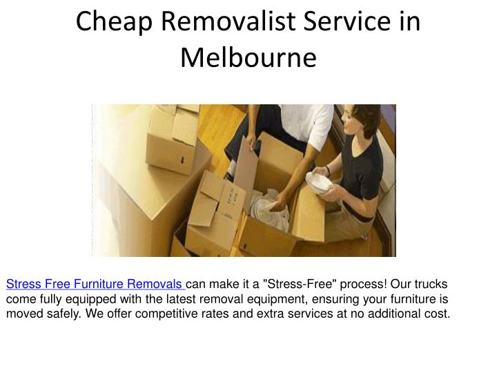Cheap removalist service in melbourne