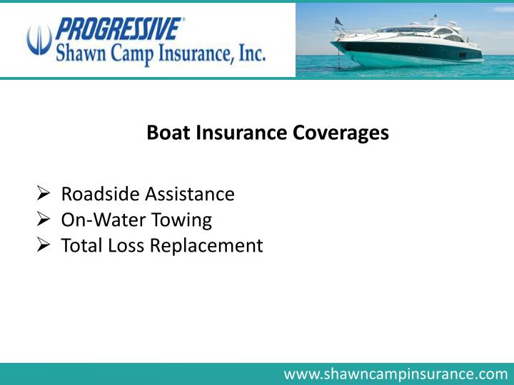 Boat Insurance Coverages