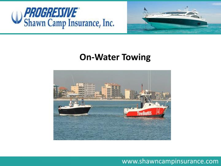 On-Water Towing