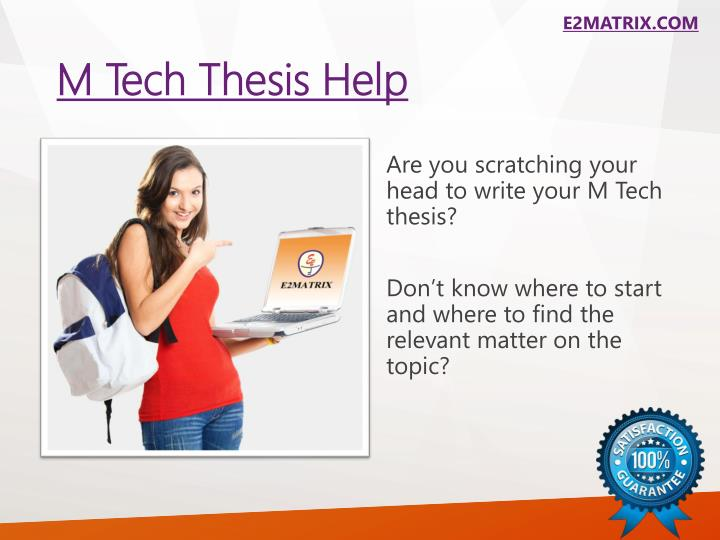 Help In Thesis