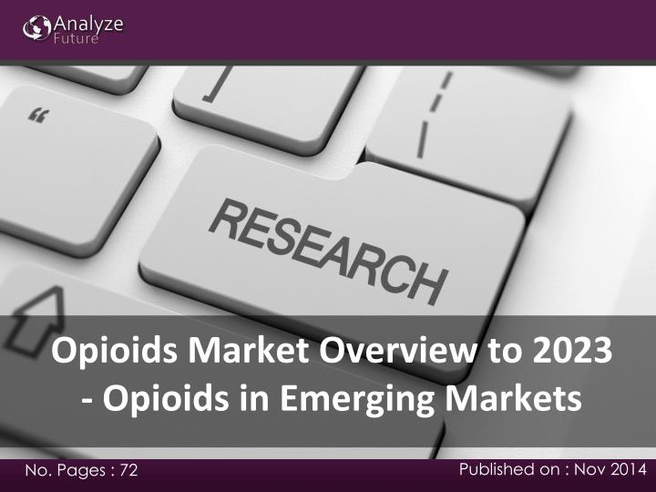 Opioids Market Overview to 2023 - Opioids in Emerging Markets
