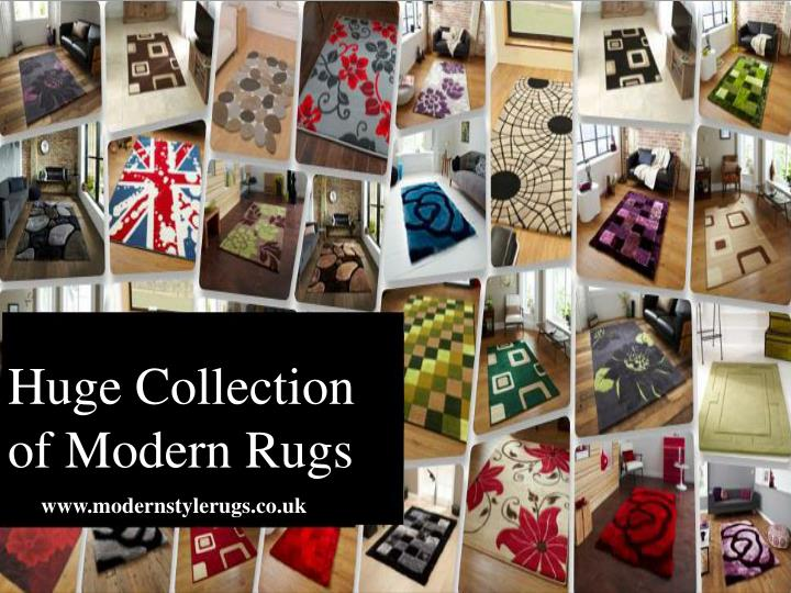 Huge Collection of Modern Rugs