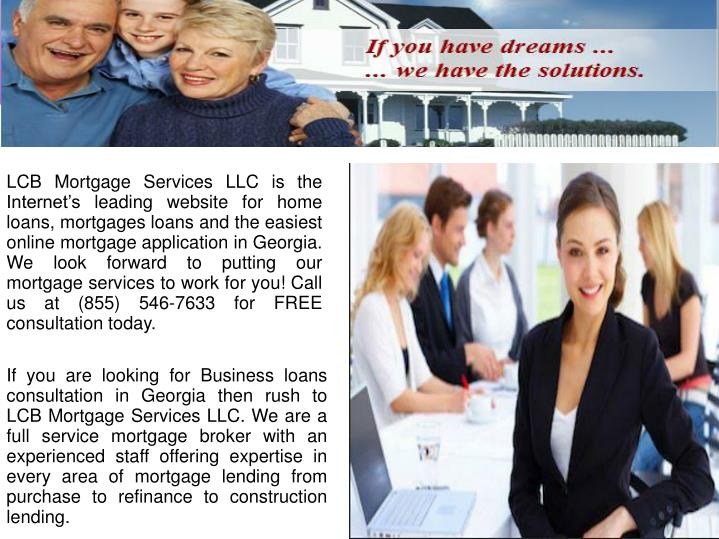 LCB Mortgage Services LLC is the