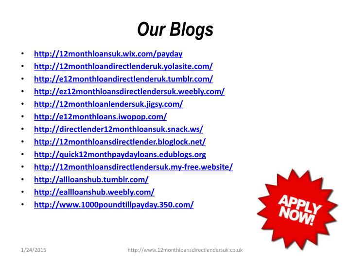 Our Blogs