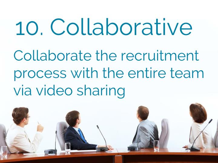 10. Collaborative