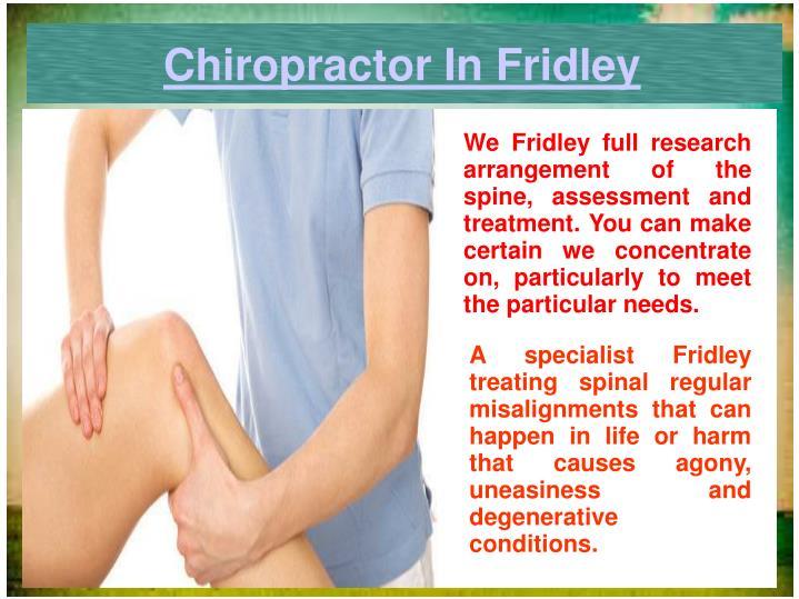 Chiropractor In Fridley