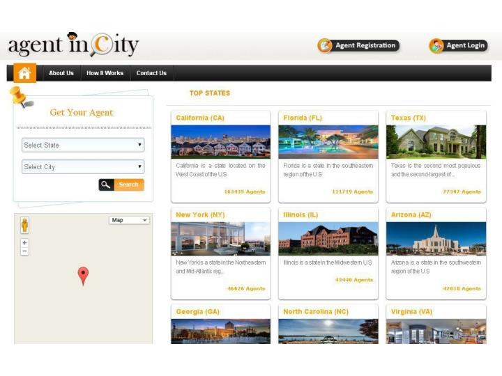 Real estate agent directory