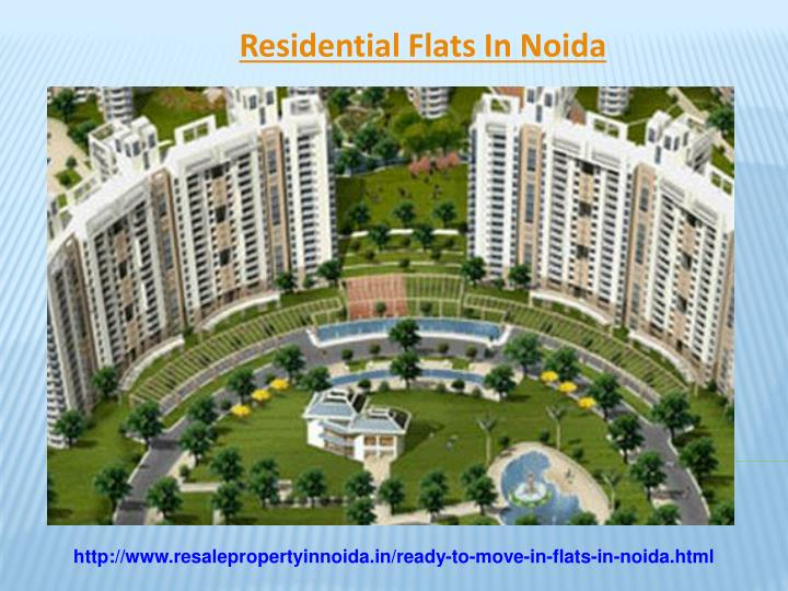 Residential Flats In Noida