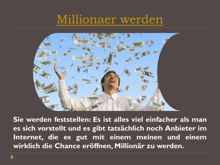 Millionaer