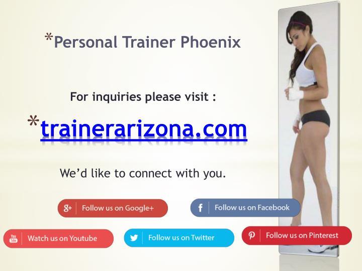 Personal Trainer Phoenix