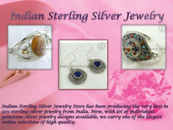 Indian Sterling Silver Jewelry