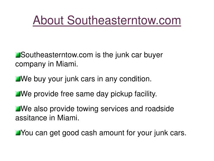About Southeasterntow.com