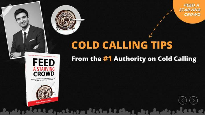 Cold calling tips from the 1 authority on cold calling
