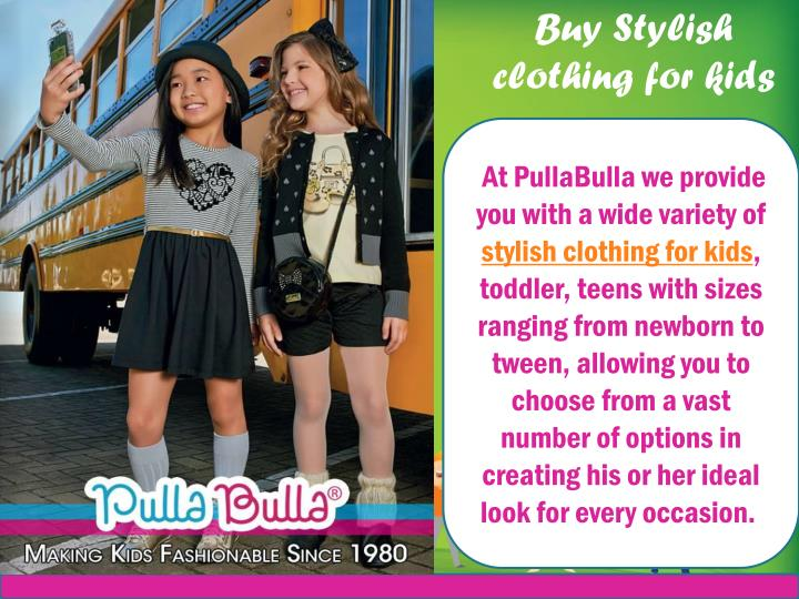 Buy Stylish clothing for kids